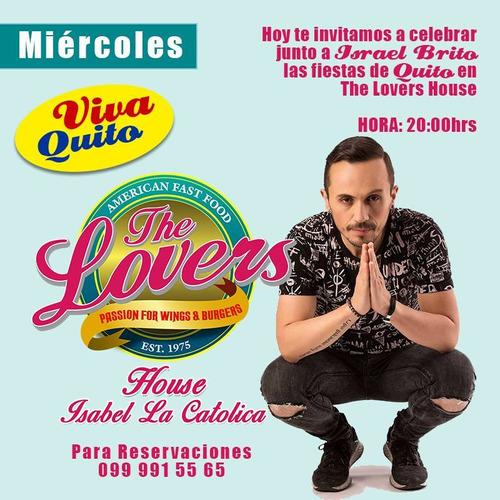 franquicias the lovers de venta para todo el ecuador