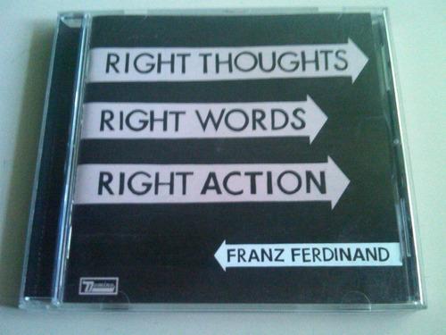 franz ferdinand cd usado en buenas condiciones nacional