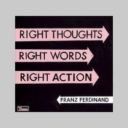 franz ferdinand right thoughts right words right ac cd nuevo