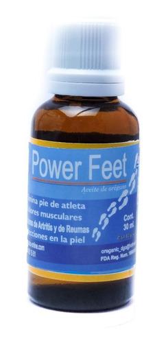 frasco 30ml de aceite de orégano/power feet (uso externo)
