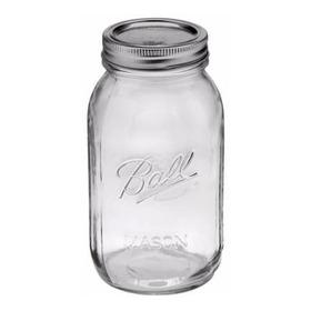 Frasco Ball Mason Jar, 950 Ml. Quart Jar, Calidad Superior