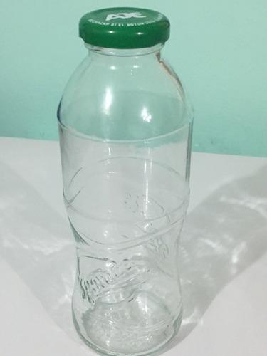 frasco botella vidrio 500cc tapa twist off 38mm reciclados