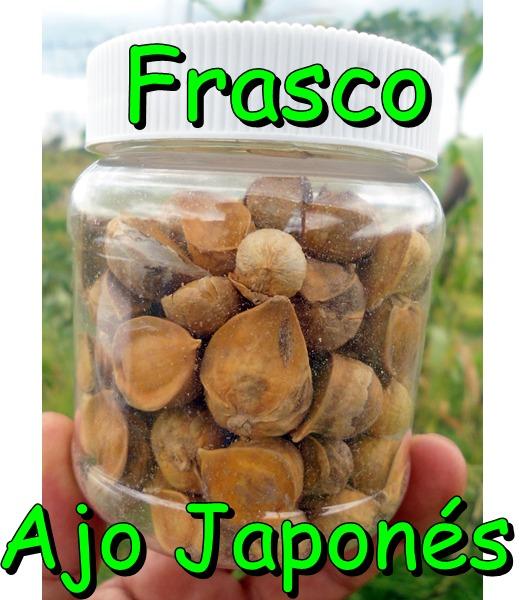 Frasco Con 100 Ajos Japonés O Chino Semilla Natural 13900 En