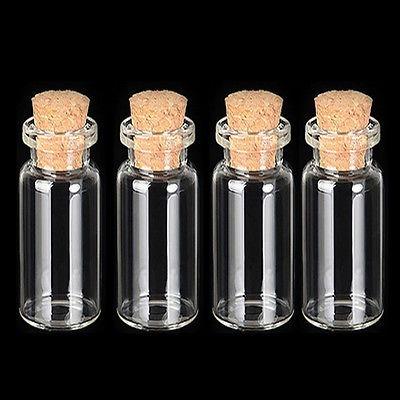 frasco con corcho * 80 unidades 28 ml, transparente, vidrio