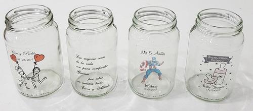 frasco con vinilo souvenirs frases personalizado 15 años