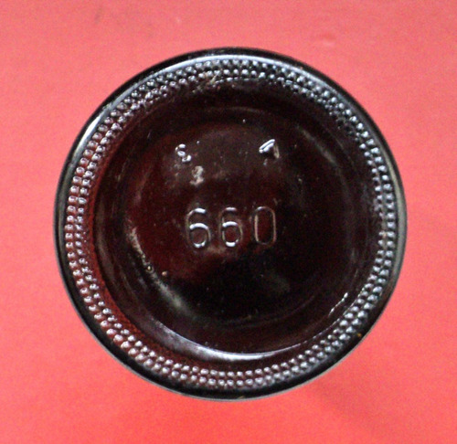 frasco de farmacia  antiguo 660 cl hoechst
