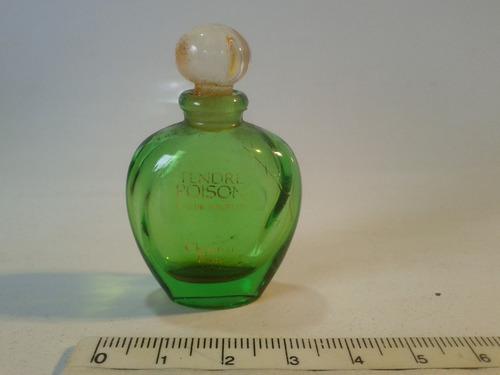 frasco de perfume miniatura - vidro - muito antigo - 02