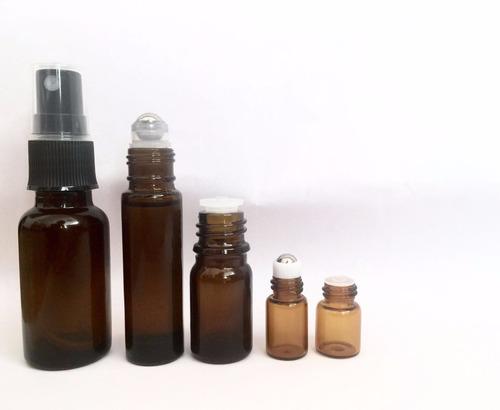 frasco de vidrio gotero 5ml ambar