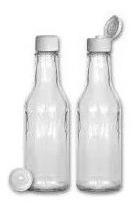 frasco de vidrio salsa inglesa 150 cc
