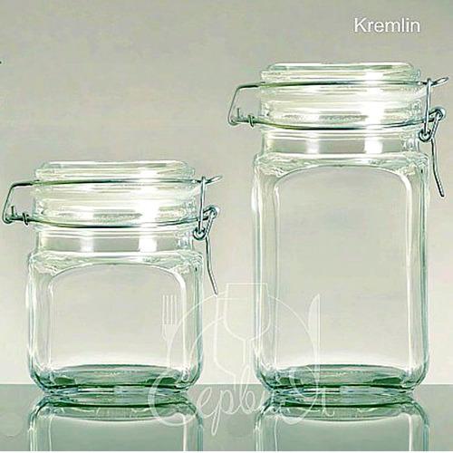 frasco hermético frasco almacenaje frasco vidrio clip 740cc