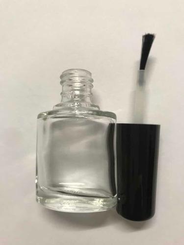 frasco oval de vidro para esmalte 8ml com tampa 100 peças