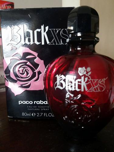 frasco paco rabanne black xs