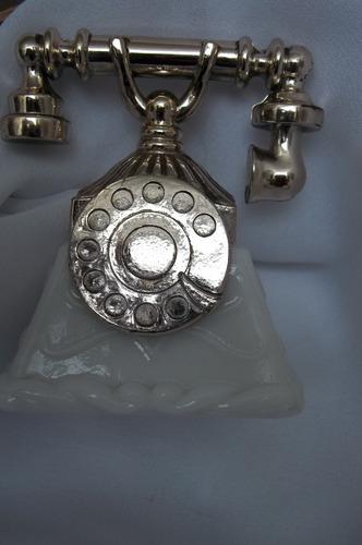 frasco perfume avon antiguo, telefono,coleccionable,retro.