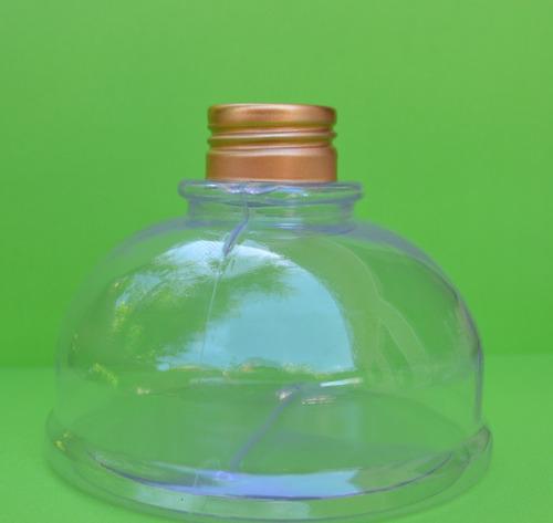 frasco tipo tintero plástico c/tapa rosca metal - souvenirs