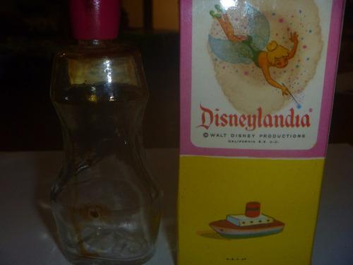 frasco vacio colonia disneylandia coleccion decoracion #2705