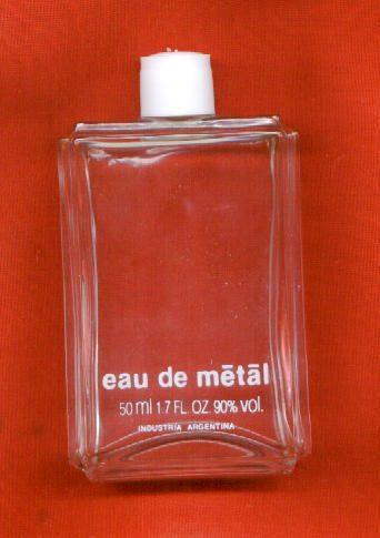 frasco vacío perfume