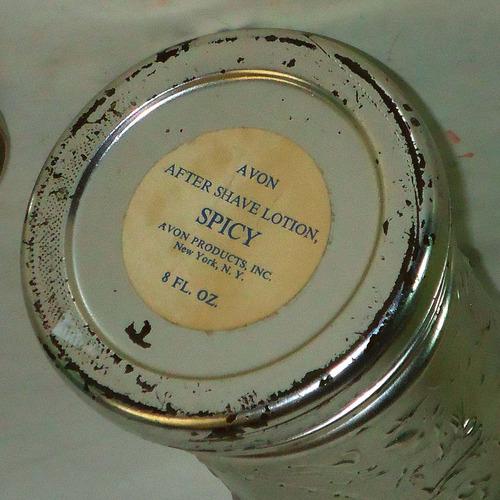 frasco vidrio avon u.s.a. forma jarra cerveza,15,5 cm. retro