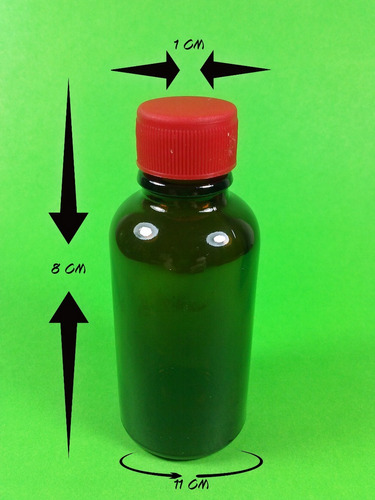 frasco vidrio farmaceutico ambar  x 30ml x 100