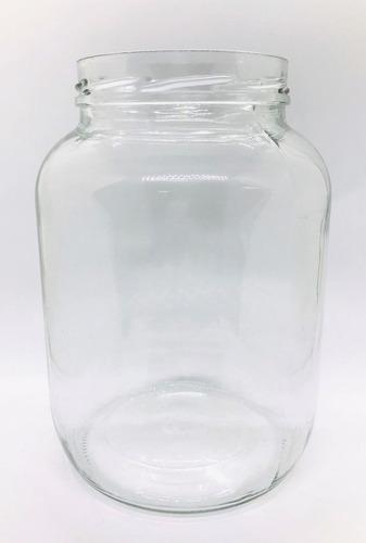 frasco vidrio gigante porta velas 3000 s/ tapa x 4 uni