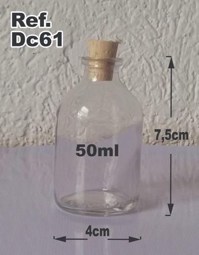 frascos botellas vidrio con corcho, recordatorios ref. v34