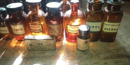 frascos de farmacia