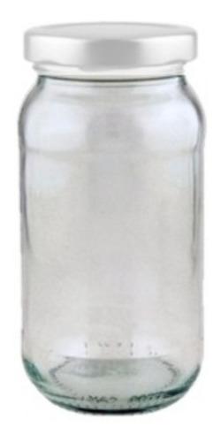 frascos de vidrio 200 cc nuevos con tapa metálica para vacio