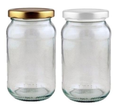 frascos de vidrio 500 cc con tapa twist off 63 mm para vacio