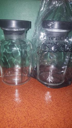 frascos de vidrio para souvenir o especias y condimentos