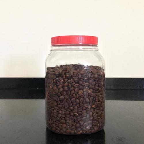 frascos plasticos contenedor multiuso 3000 cc c/ tapa x 24 u
