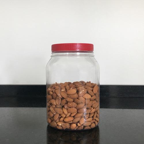 frascos plasticos contenedor multiuso 3000 cc c/ tapa x 6 u