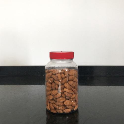 frascos plasticos contenedor multiuso 710 cc c/ tapa x 12 u