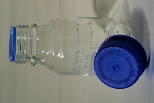 frascos reagentes boro 3.3 boeco 3 peças 1000ml 500ml
