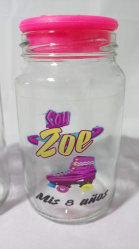 frascos vasos personalizados frases vinilo con tapa plastica