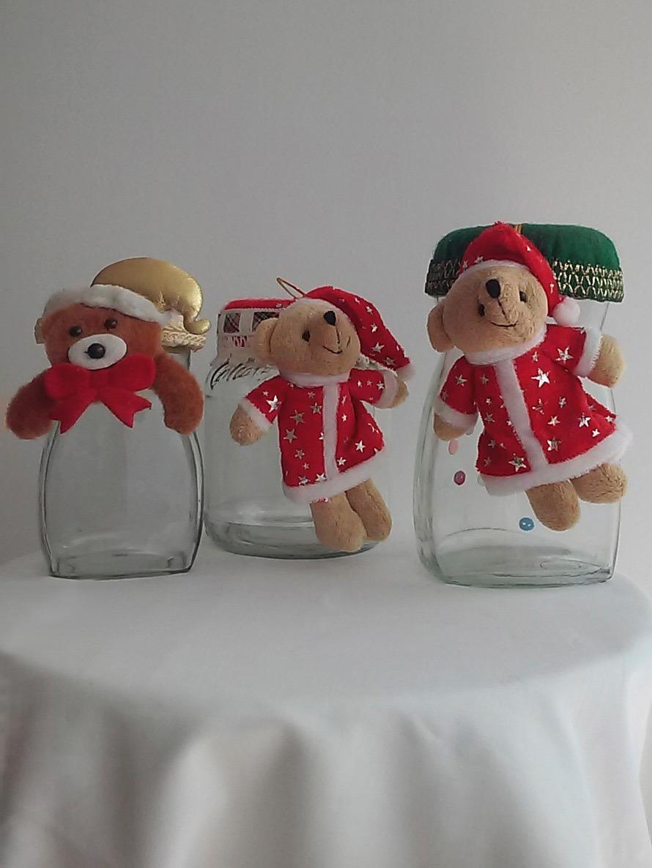 Frascos vidrio decorados navidad en mercado libre for Frascos decorados para navidad