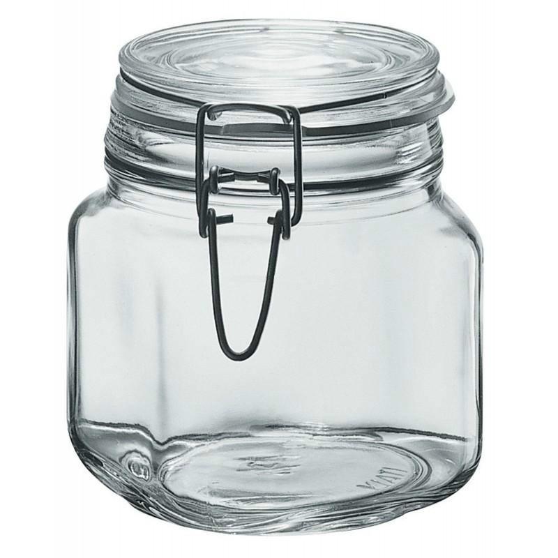 Frascos y recipientes hermeticos de cristal ml kg en mercado libre - Recipientes para alimentos ...
