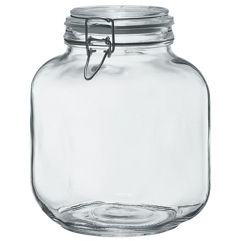 frascos y recipientes hermeticos de cristal 3100 ml kg