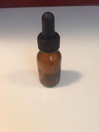frascos,envases de vidrio 20cc con pipeta 1ml