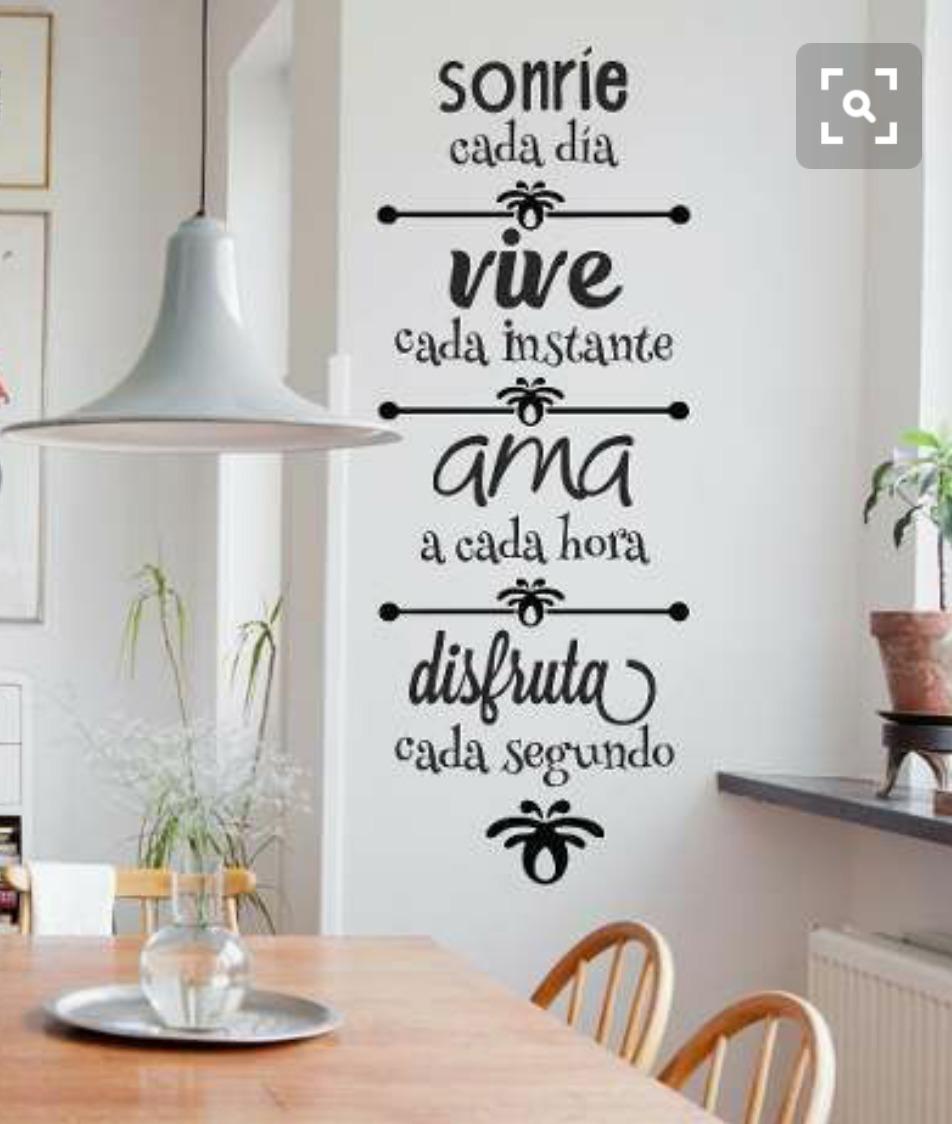Frase Sonrie En Vinil Especial Para Dentistas