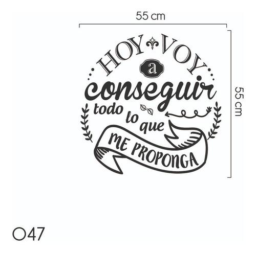 frases decorativas adhesivas empresa oficina motivación