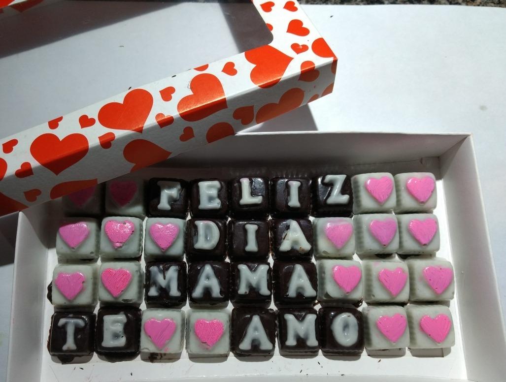 Frases En Chocolate Mama Amor Aniversario