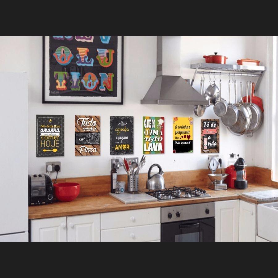 Frases para cozinha placas decorativas mdf 30x20cm r 14 90 em mercado livre - Placas decorativas para pared interior ...
