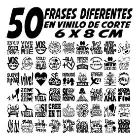 Frases Para Fracos Solo Quedan Las Letras Pegadas X50 Vinilo