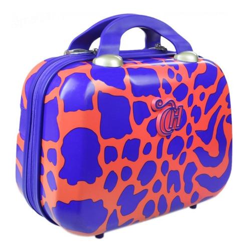 frasqueira capricho viagem animal print 48659 maleta bolsa