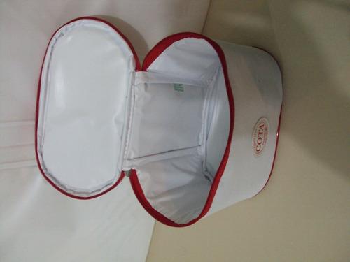 frasqueira térmica feminina enfermeira promoção ostentação