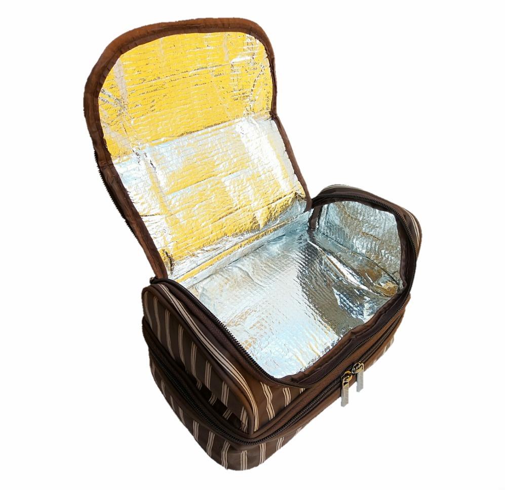 frasqueira térmica necessaire bolsa de mão marmita promoção. Carregando zoom . f787bf5b07e