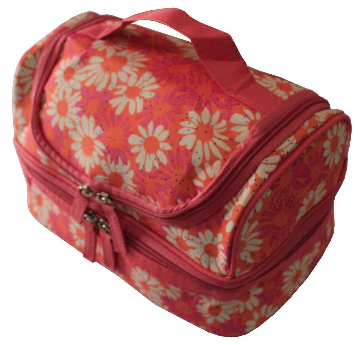 Bolsa Feminina Com Compartimento Para Marmita : Frasqueira t?rmica necessaire bolsa feminina marmita