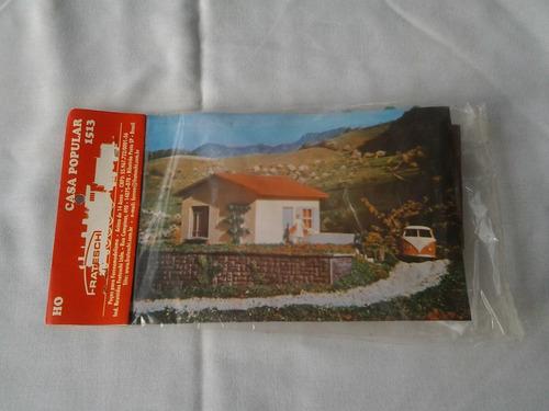 frateschi 1513 maqueta para armar casa pequeña esc. h0