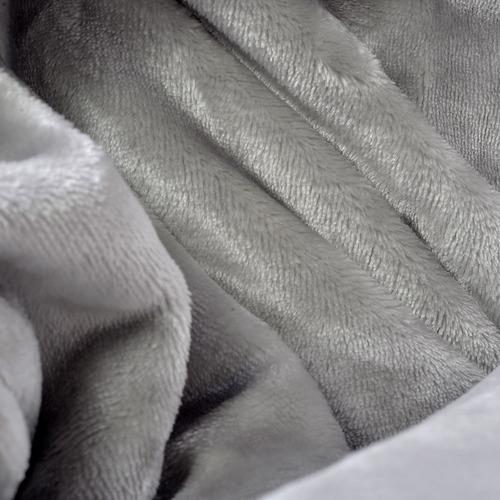 frazada 160 x 240 makenna deco gris