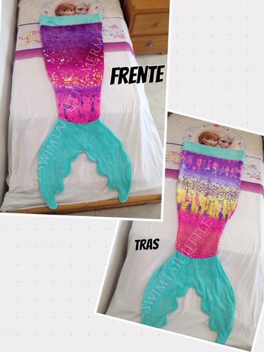 frazada bolsa de dormir de cola de sirena mermaid blanket