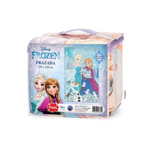 frazada microfibra frozen frazada elsa y ana flannel piñata
